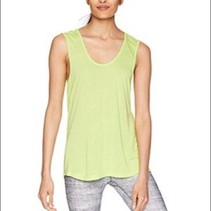 Sam Edelman soft jersey tank key lime